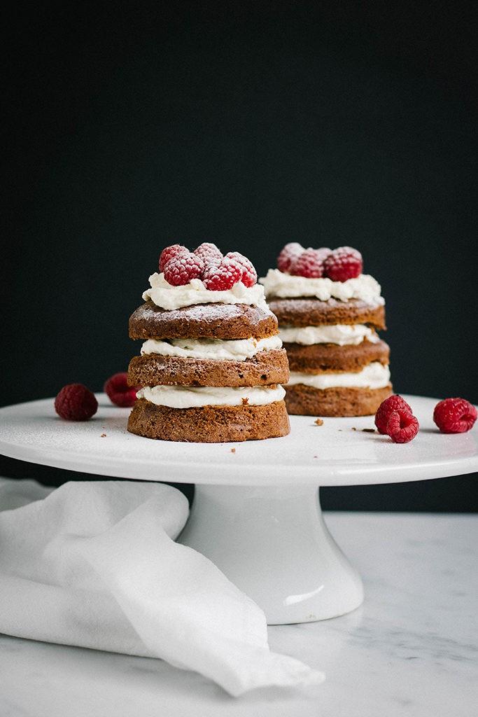 Recept: Chocoladetaartjes met frambozen - Angelina Catharina, by Eunoia