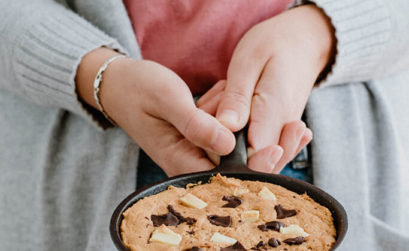 Recept: Chocolate Chip CookieRecept: Appel-bramen crumble met yoghurt - - Angelina Catharina, by Eunoia