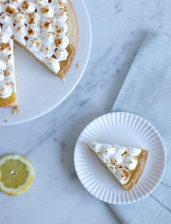 Recept: Citroen meringue taart - Angelina Catharina, by Eunoia