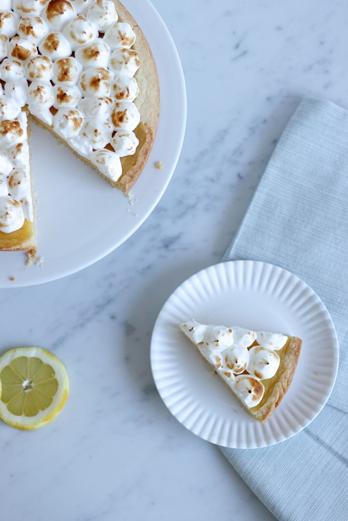 Recept: Citroen meringue taart - Angelina Catharina, by Eunoia
