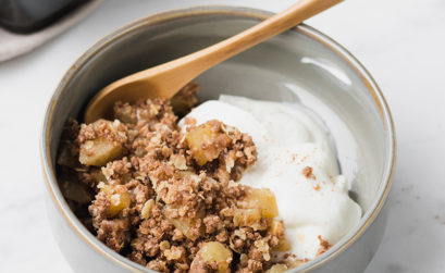 Recept: 5-spice appelcrumble - Angelina Catharina